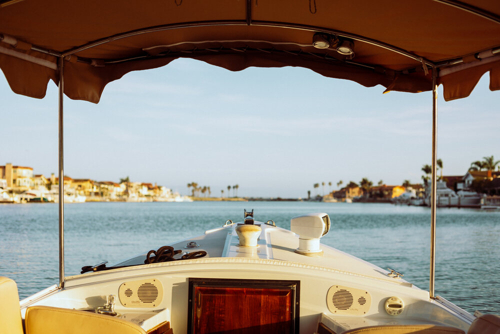 Rachel Off Duty: The View of Huntington Harbour from a Duffy Boat