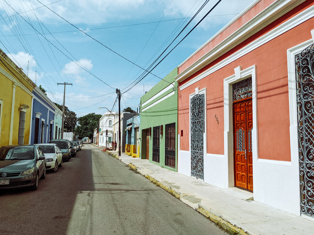 Rachel Off Duty: The Colorful Streets in Merida, Mexico