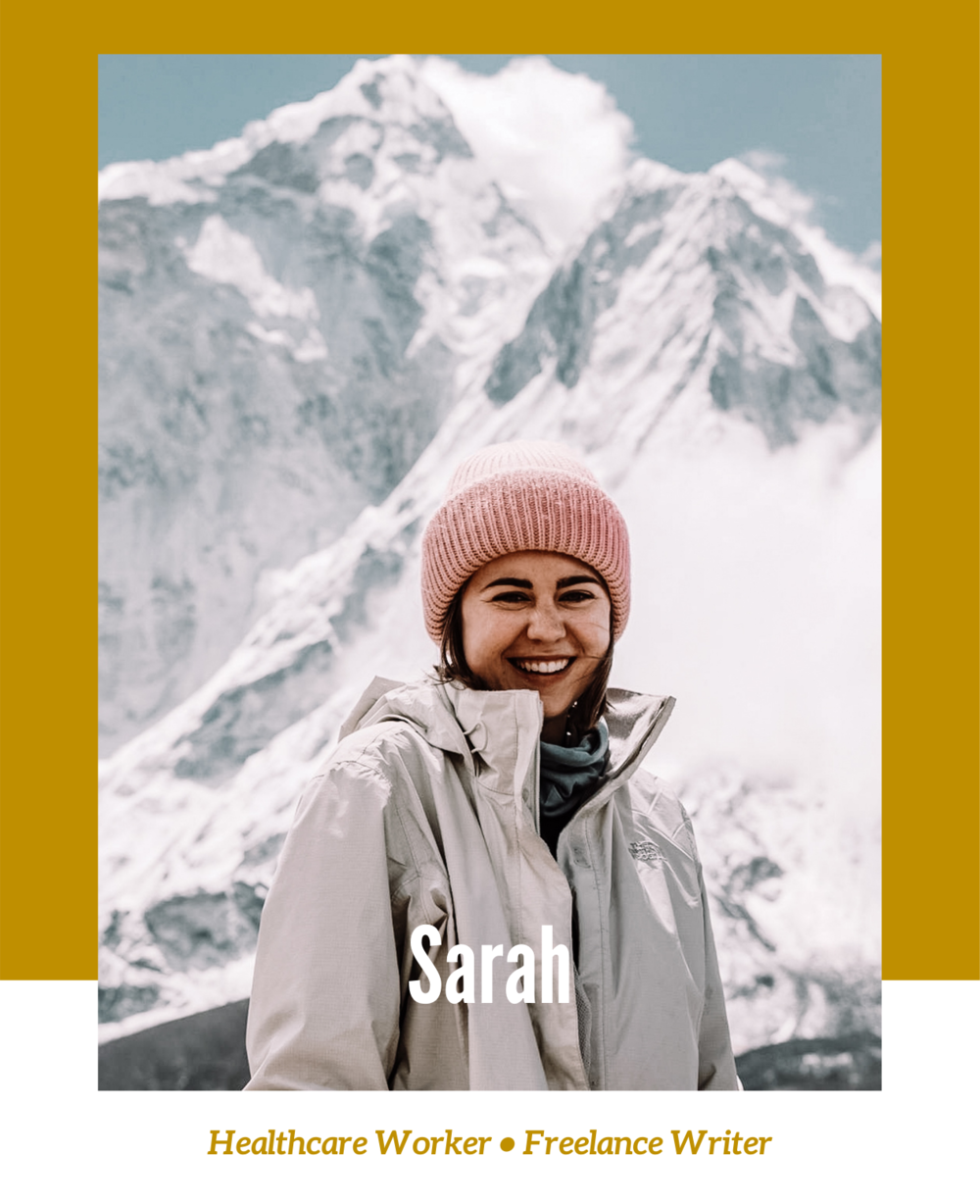 Sarah is a Healthcare Worker and Freelance Writer