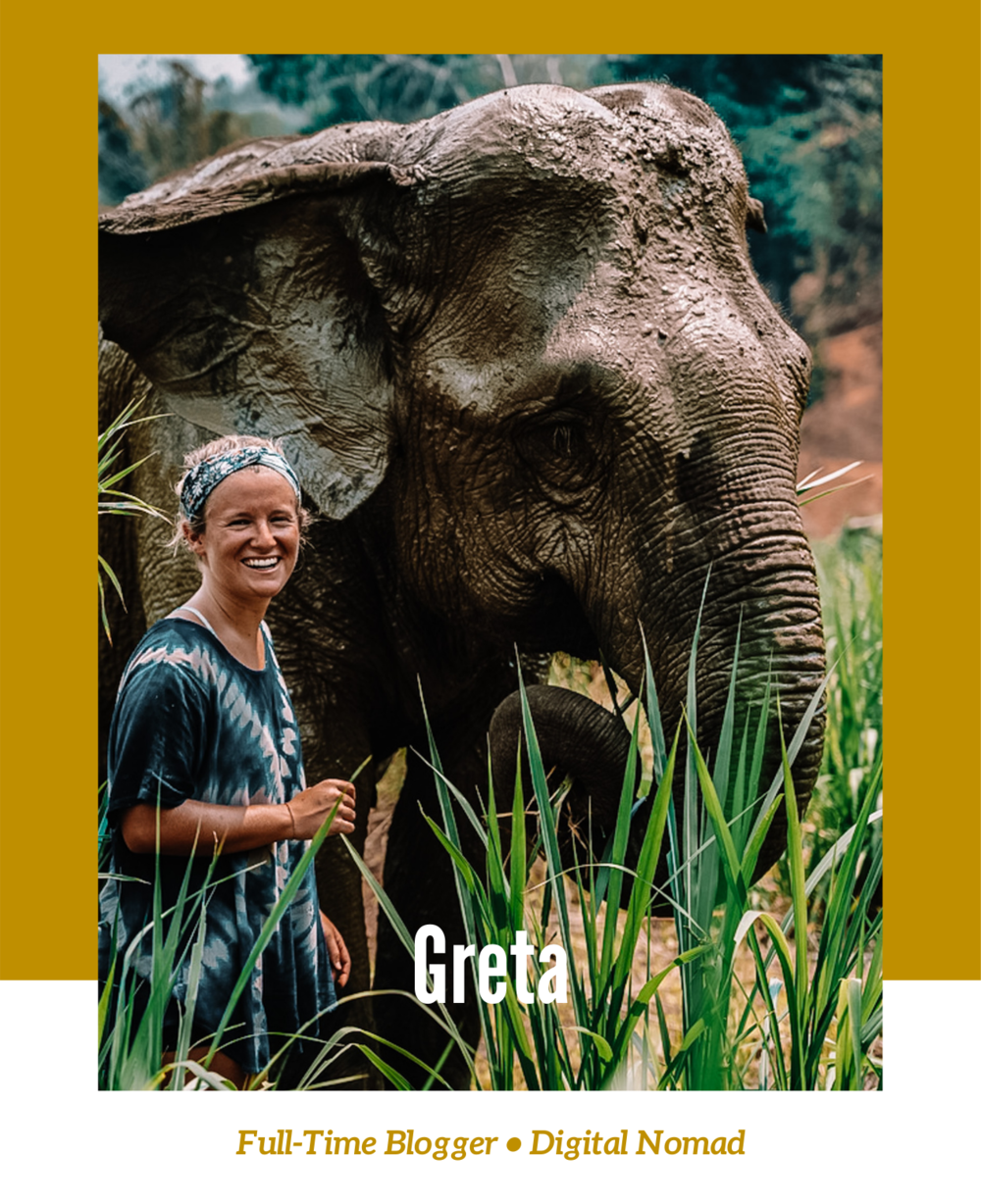 Greta is a Full-Time Blogger and Digital Nomad