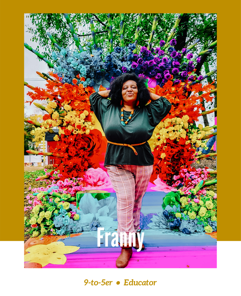 Rachel Off Duty: Stories Beyond the 9-to-5 – Episode 8 – Franny The Traveler