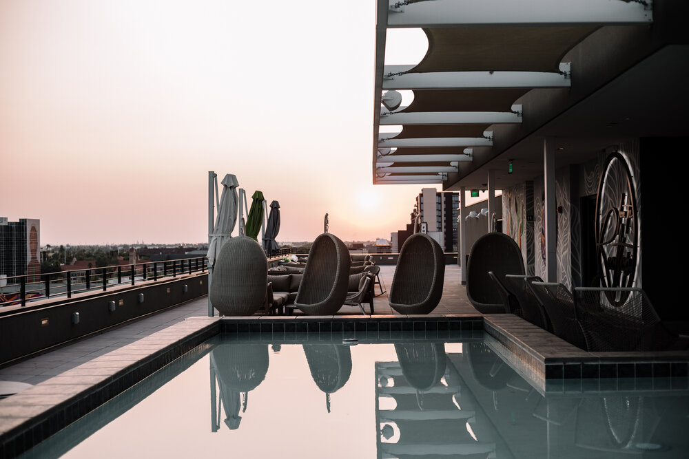 Rachel Off Duty: The Rooftop of the Cambria Hotel Downtown Phoenix Convention Center
