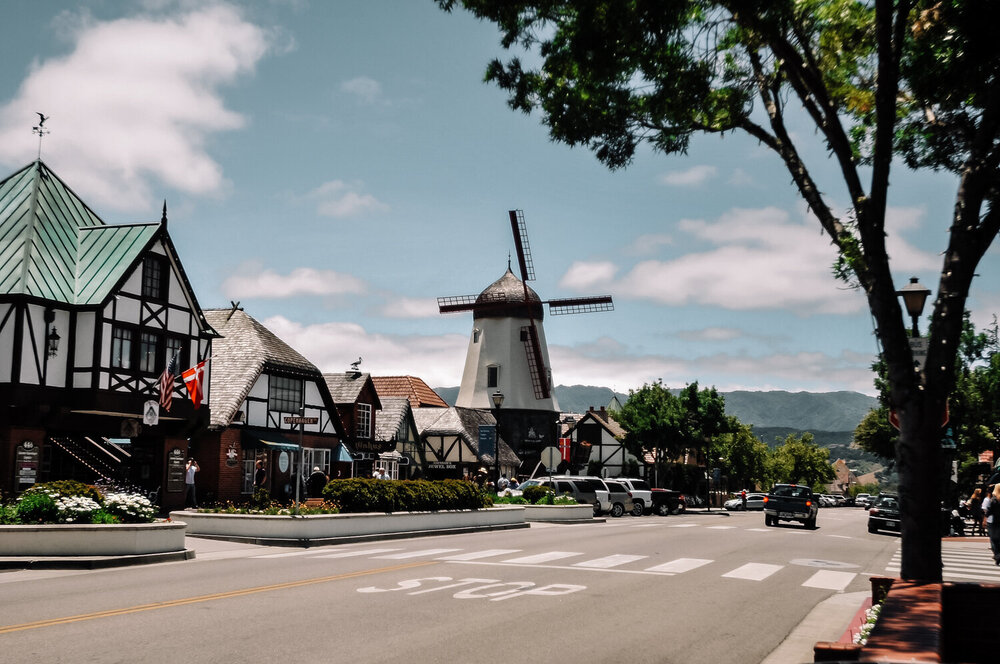 Rachel Off Duty: Solvang Architecture and Windmills