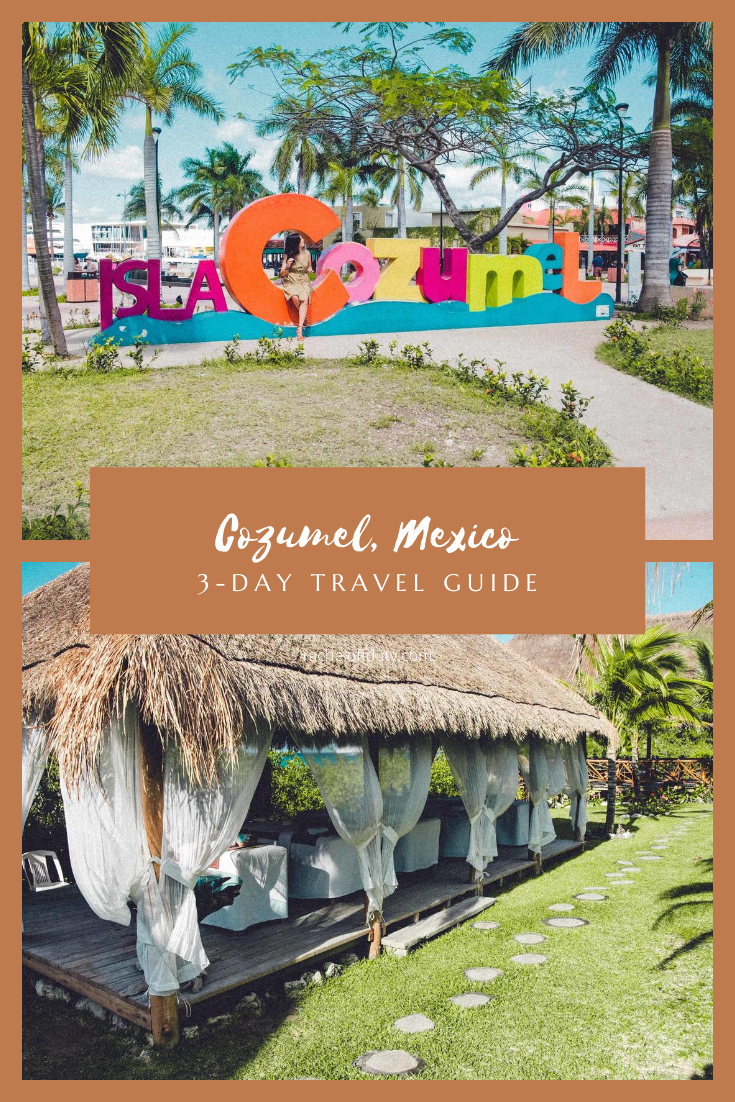 Rachel Off Duty: A 3 Day Guide to Cozumel, Mexico