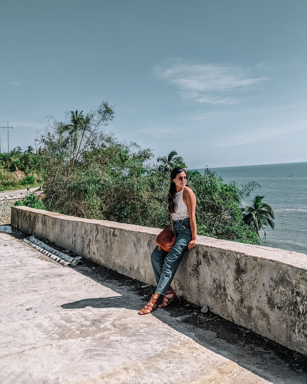 Rachel Off Duty: Woman by the Beach in the Philippines