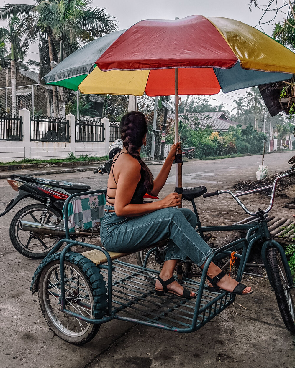 Rachel Off duty: Tricycle Rides in the Philippines