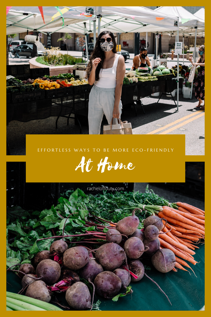 Rachel Off Duty: Effortless Ways to Start Being More Eco-Friendly at Home