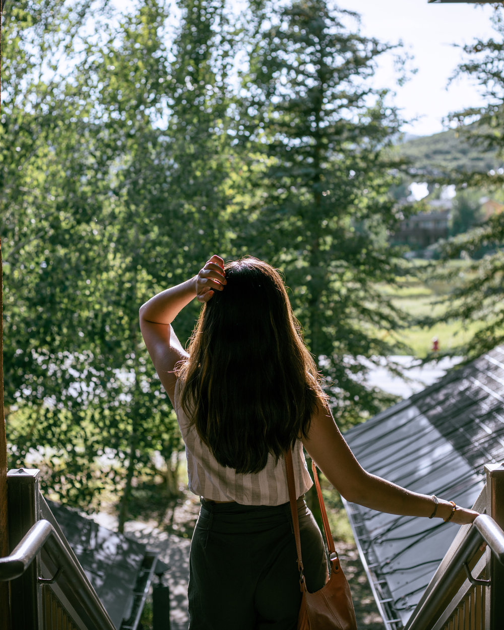 Rachel Off Duty: Woman at The Lodges at Deer Valley