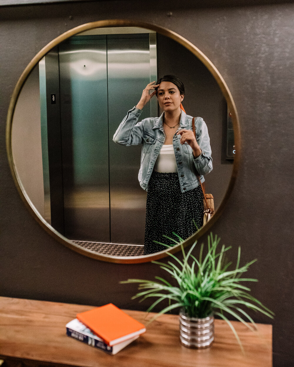 Rachel Off Duty: Woman Staring at the Mirror
