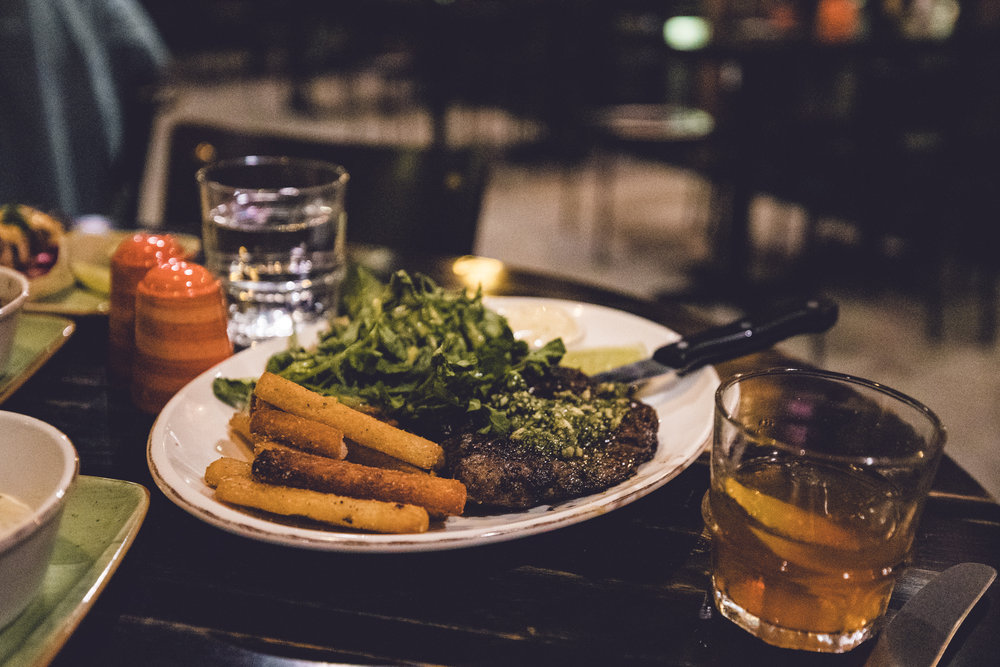 Rachel Off Duty: Tostones, Yucca fries & Steak with Chimichurr