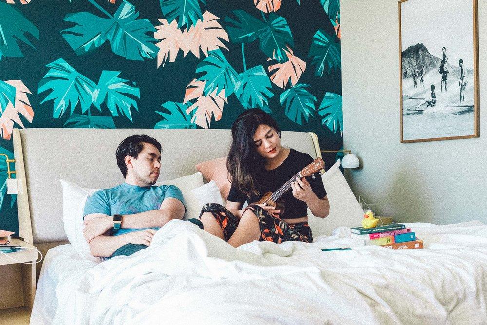 Rachel Off Duty: Couple in Bed