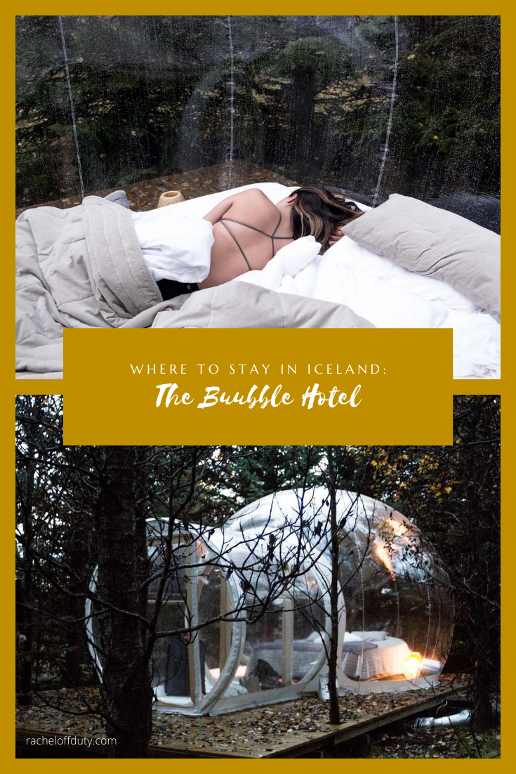 Rachel Off Duty: Where to Stay in Iceland: The Buubble Hotel