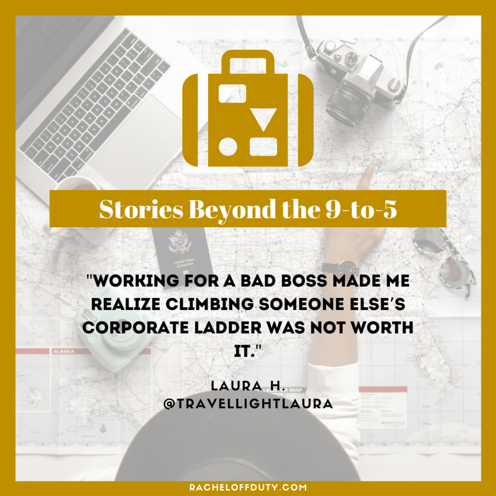 Rachel Off Duty: Stories Beyond the 9 to 5 - Episode 4 - Laura H.