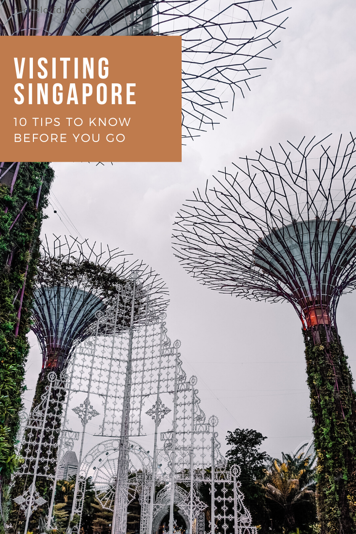 Rachel Off Duty: 10 Tips To Know Before Visiting Singapore