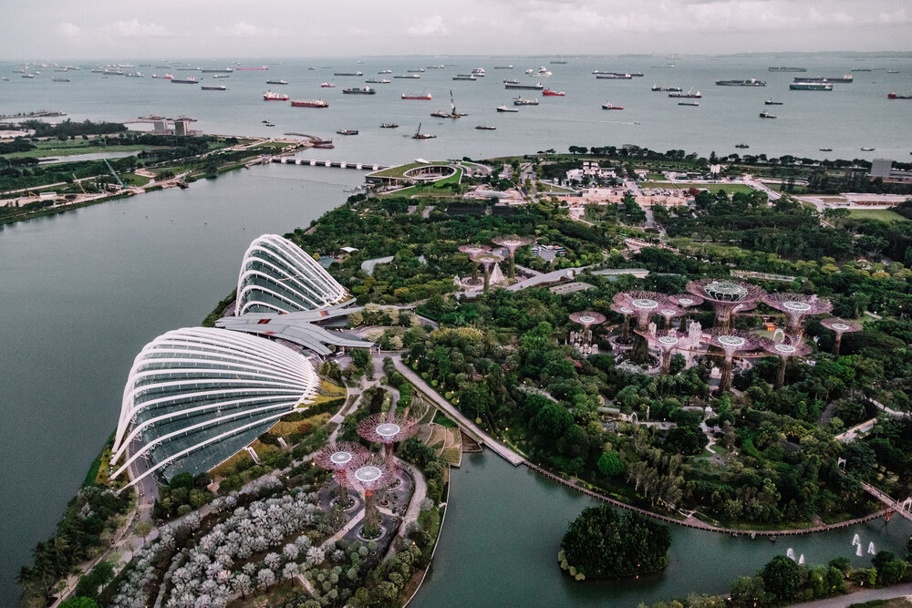 Rachell Off Duty: View From Marina Bay Sands