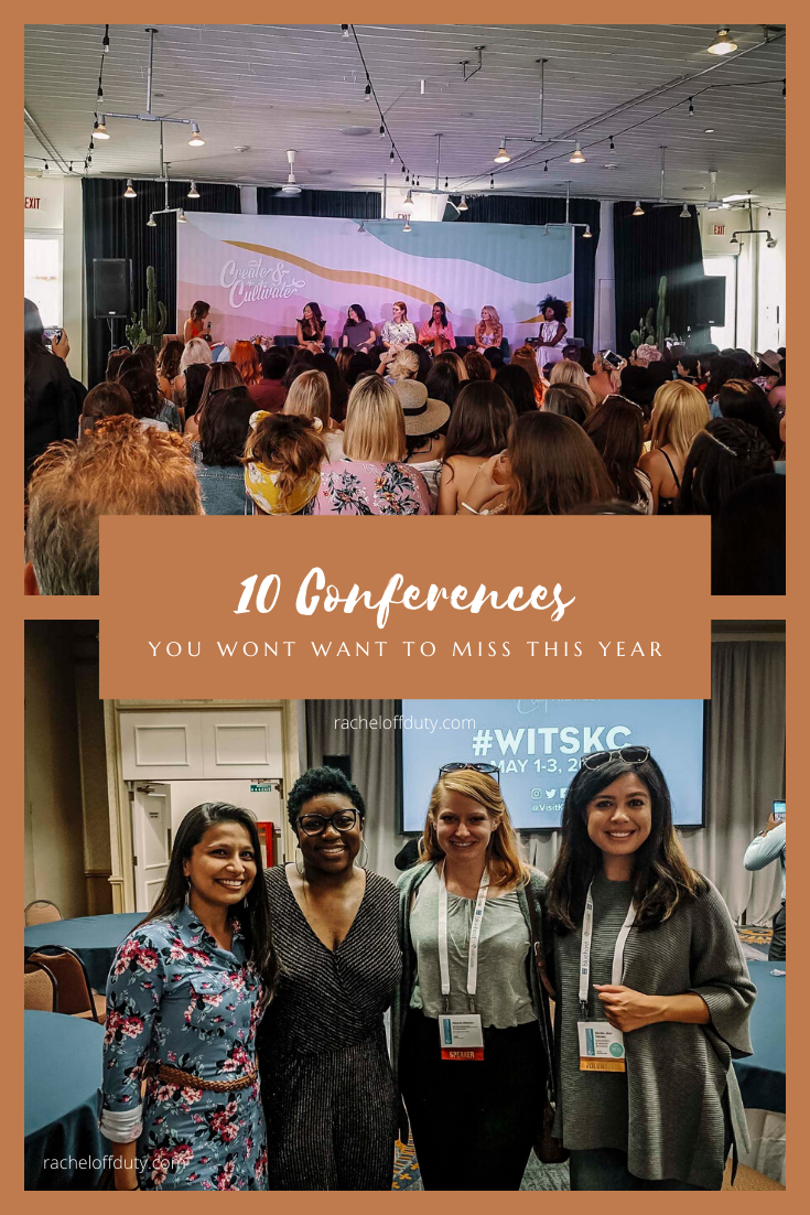 Rachel Off Duty: All The Travel, Professional Development, & Creativity Conferences You Won't Want to Miss in 2020
