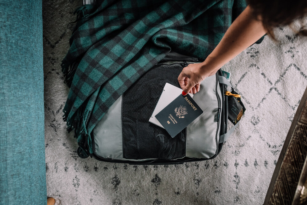 Carry on and a Passport - Rachel Off Duty