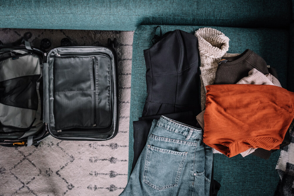 Carry On and Clothes for Packing - Rachel Off Duty