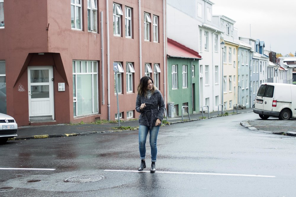 Rachel Off Duty: Woman in Reykjavik