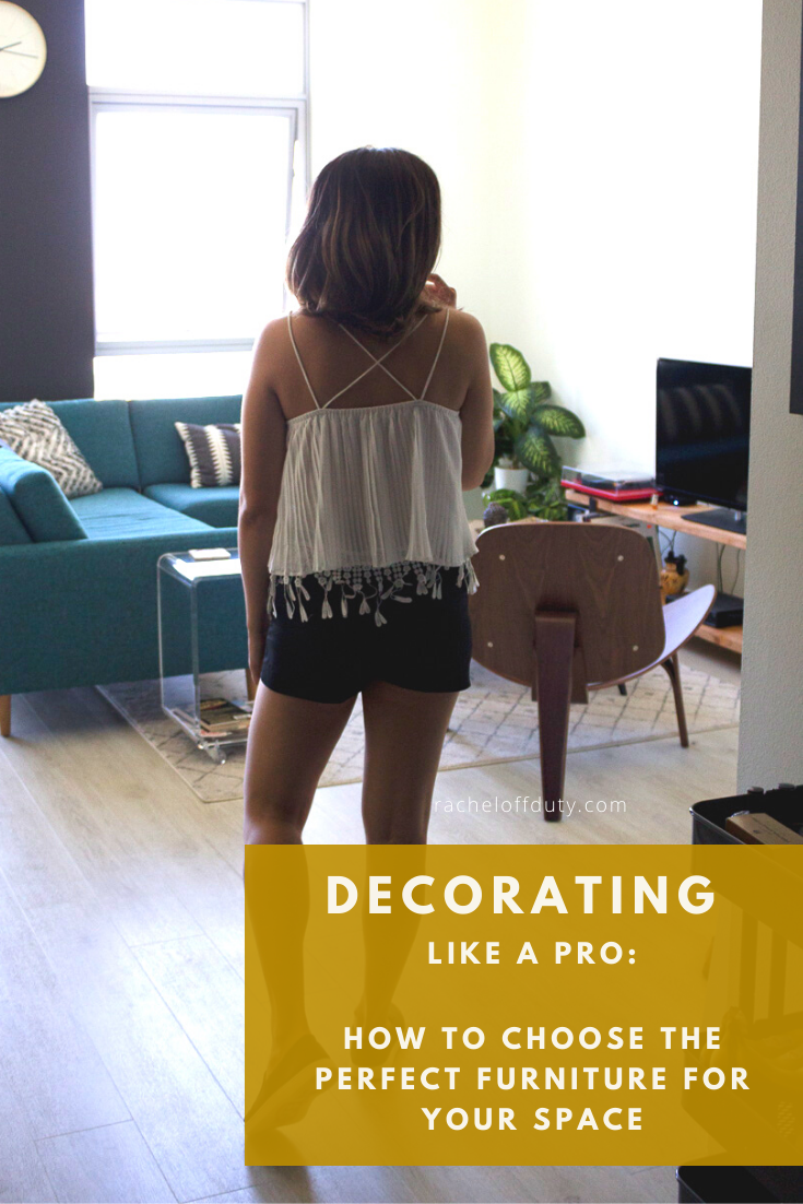 Rachel Off Duty: How to Choose the Perfect Furniture for your Space