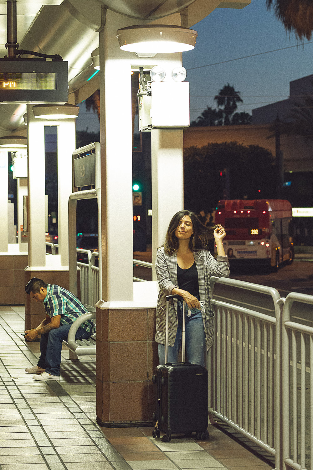 Rachel Off Duty: Woman at the Train Station