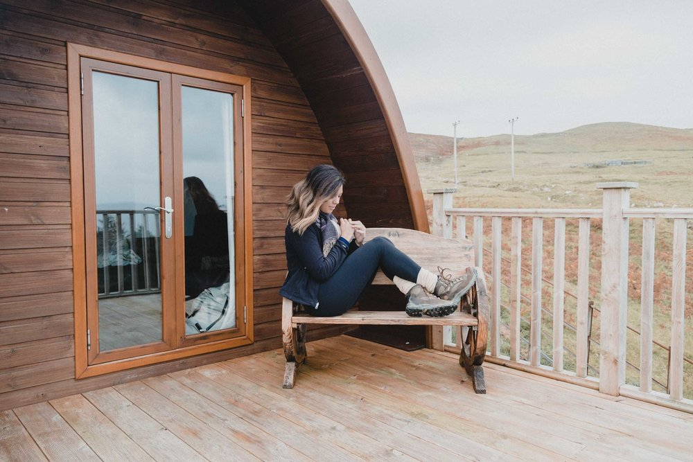 Rachel Off Duty: Woman in The Cowshed Hotel