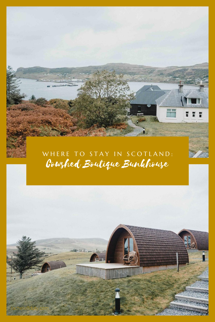 Rachel Off Duty: Stay in This Remote Hotel in Scotland: The Cowshed Boutique Bunkhouse