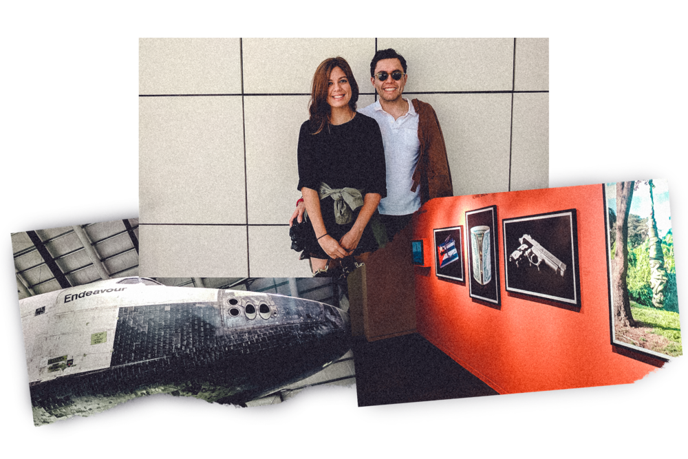 Rachel Off Duty: Couple Touring Museums in Los Angeles