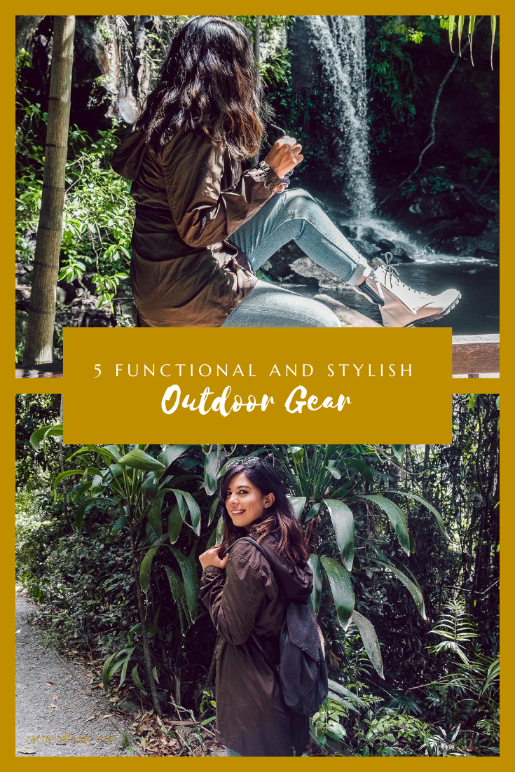 Rachel Off Duty: How to Choose Functional and Stylish Outdoor Gear