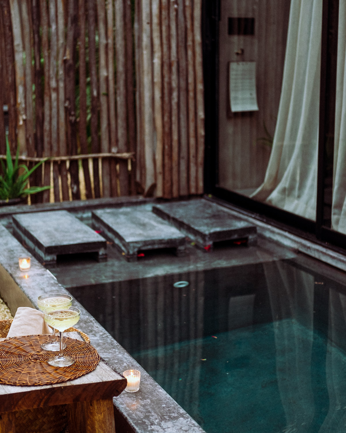 Rachel Off Duty: The Private Plunge Pools at Hotel Bardo, Tulum