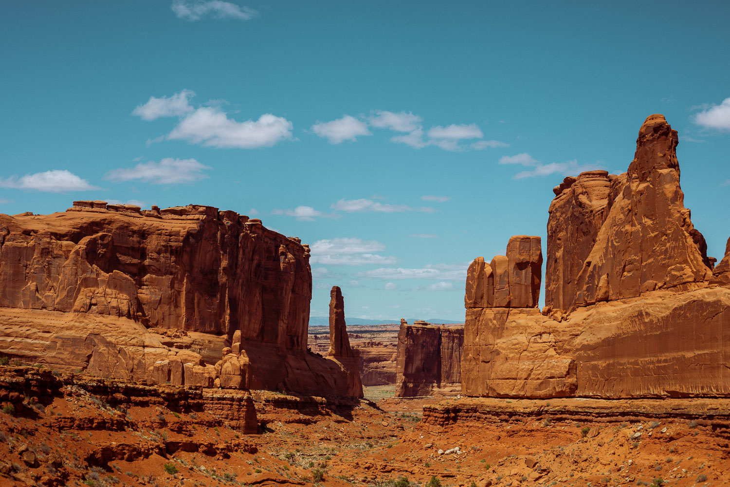 Rachel Off Duty: Scenic Red Rock Landscapes in Arches National Park