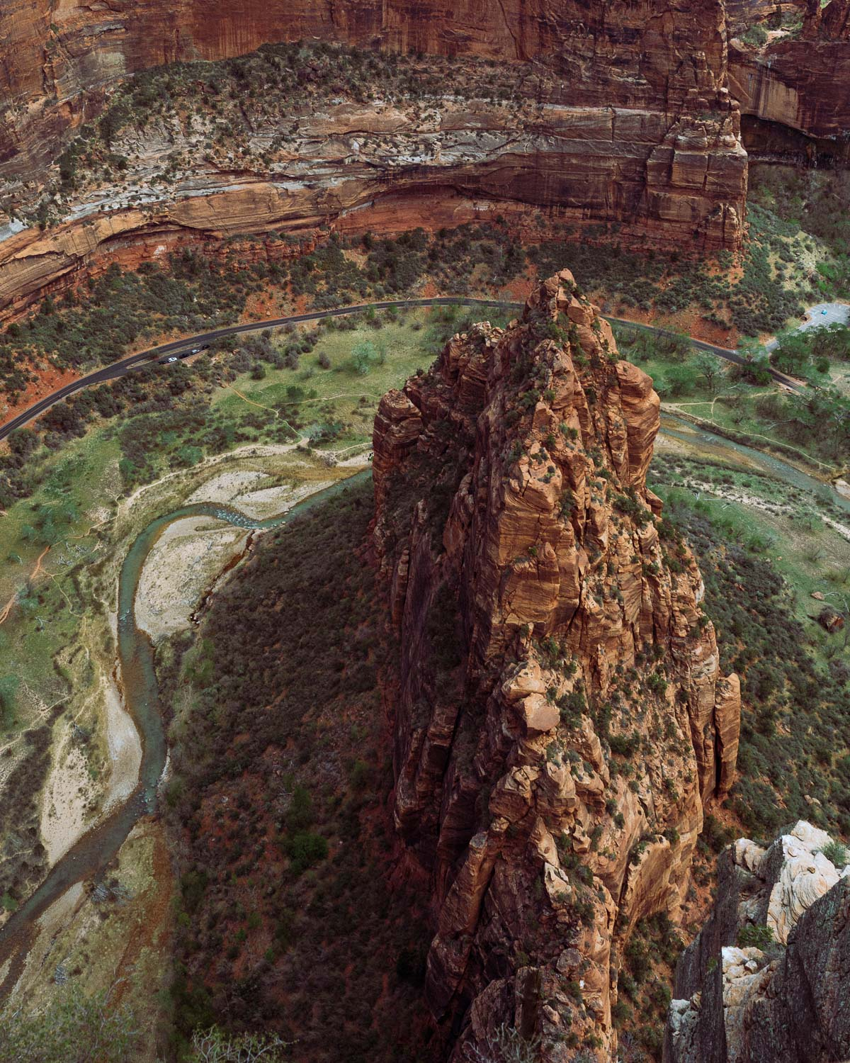 Rachel Off Duty: The View From the Top of Angel's Landing in Zion National Park