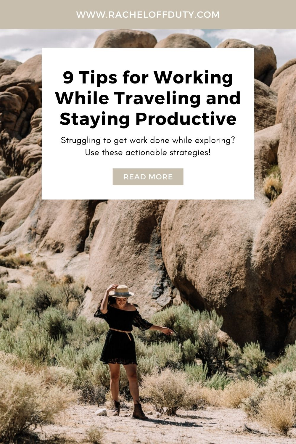 Tips for Working While Traveling and Staying Productive - Rachel Off Duty